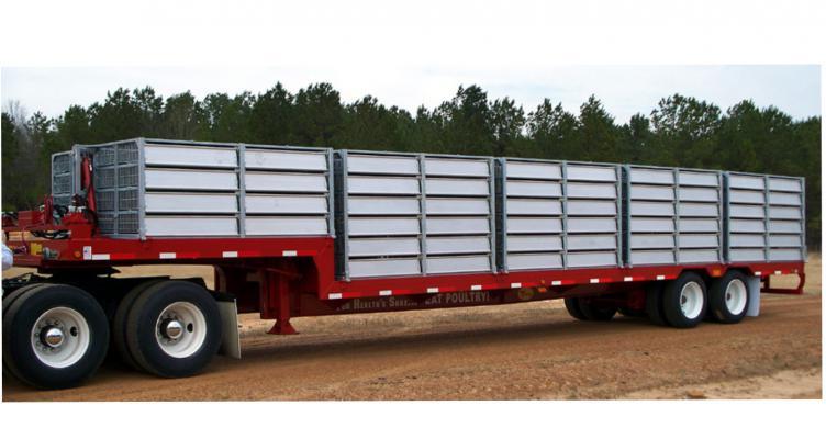 Side Unloading Poult Transport Trailer - Bright Coop, Inc ... on trailer brakes, trailer plugs, trailer generator, trailer fuses, trailer hitch harness, trailer mounting brackets,